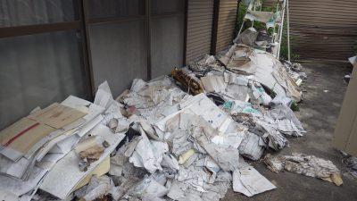 一宮市苅安賀で廃品の回収