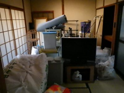 一宮市高田で廃品回収