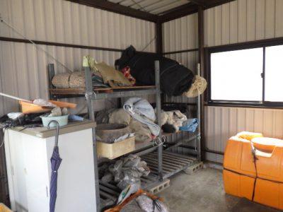 収納棚の処分(一宮市)