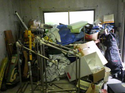 車庫の不用品