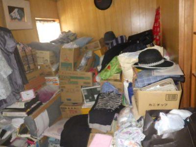 親宅の不用品処分